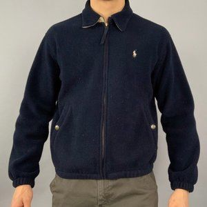 Vintage 90s polo Ralph Lauren fleece zip up jacket